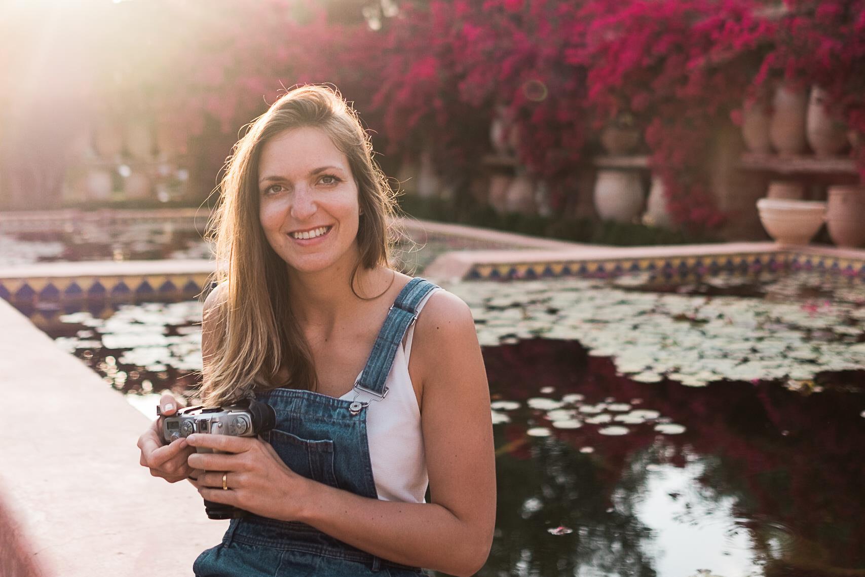 Delphine, photographe au cœur d'or