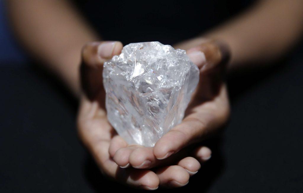 Le plus grand diamant brut du monde.